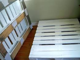 twin beds made out of pallets how to make a twin bed frame out of pallets