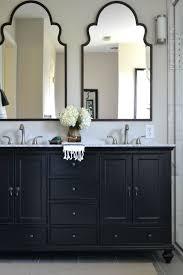 Inspiring Black Bathroom Cabinets New At Kitchen Modern Interior