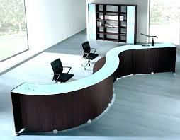 modern office reception desk. Modern Office Reception Design Chairs Table . Desk E