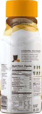 starbucks caramel macchiato chilled espresso beverage 18 fl oz walmart