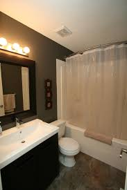 good looking curved shower curtain rod in bathroom contemporary with