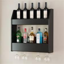 prepac furniture floating wine and