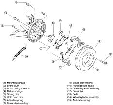 similiar kia sephia parts diagram keywords image 2000 kia sephia rear brake diagram