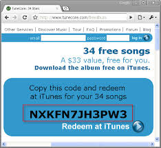 free itunes gift coupon to create