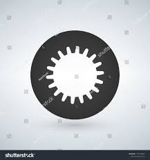 Internal Gear Design Wheel Circle Internal Gear Design Vector Royalty Free