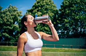 a protein shake before or after workout