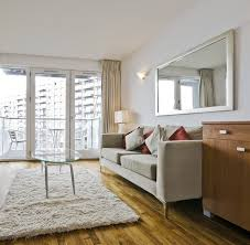 Small Picture How to decorate a living room with large wall mirror