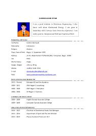 Contoh Curriculum Vitae 1 638 Cb Professional Moreover Curriculum ...