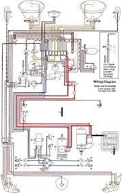 wiring diagram vw beetle sedan and convertible 1961 vw dune buggy diagram