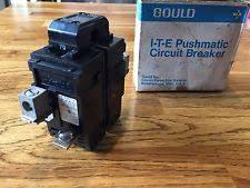 siemens electrical circuit breakers fuse boxes new p270 pushmatic ite gould siemens 70 amp 240 volt breaker screws included
