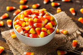 one piece of candy corn. Delighful One And One Piece Of Candy Corn