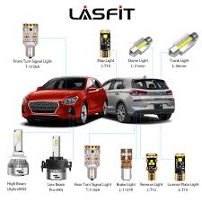 2018 2019 Hyundai Elantra Gt H7 Led Headlight Bulbs Exterior Interior Lights Plug And Play