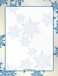 Snowflake Borders For Word Magdalene Project Org