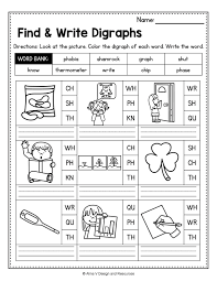 Phonics helps students learn to identify relationships between words and sounds. Consonant Digraphs Worksheets Sh Ch Th Wh Ph Kn Wr Qu Mega Bundle Digraph Kindergarten Reading Worksheets Kindergarten Phonics Worksheets