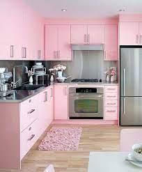 Pink Kitchens Pink Kitchen Kitchen Colors Modern Kitchen Design