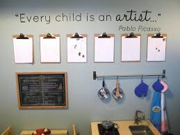 Image of: Kids Playroom Wall Art