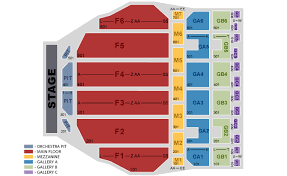 Fox Theater Seating Chart View Official Fox Theatre Concert Tickets Venue Information