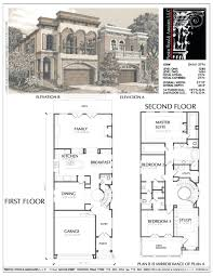 decoration house plans for view lots plan best narrow ideas on lot striking wide