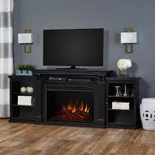 tracey grand infrared electric fireplace entertainment center in black 8720e blk