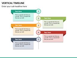 Timeline Powerpoint Slide Vertical Timeline