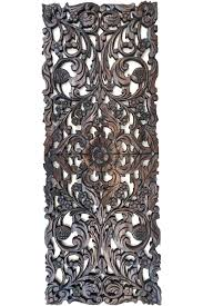 carved wood wall decor fl wood carved wall panel home decor wall hanging decorative headboard relief carved wood wall