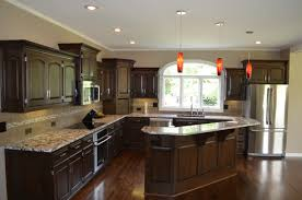 Steps To Remodel Kitchen Kitchen Awesome Trio Pendant Lights Hunga Above Kitchen Island At