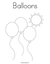 979 printable balloons products are offered for sale by suppliers on alibaba.com, of which balloons accounts for 14%, event & party supplies. Balloons Coloring Page Twisty Noodle