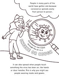 It will make her sad. St Jude Creates A Coronavirus Coloring Book For Its Patients