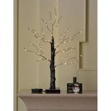 Led Lighted Branches With Timer Amazon Com Abba Patio Brown Branches Tree Light Bonsai Led