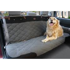Premium SmartFit Quilted Pet Bench Seat Cover & Solvit Premium Quilted Pet Bench Seat Cover installed Adamdwight.com