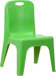 Plastic Stackable Preschool Chair 11 Inch Seat Height