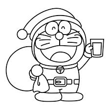 Trọn bộ 40 tranh tô màu Doraemon hấp dẫn nhất giúp bé giải trí hiệu quả