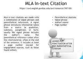Mla Style Refrence Mla Style Citation Styles Libguides At Cossatot