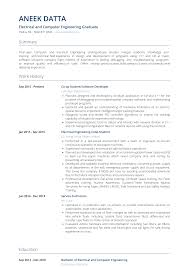 Electrical Engineering Resume Samples Electrical Engineer Resume Samples Templates Visualcv