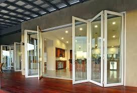 exterior accordion doors. Accordion Door Exterior Folding Fold Doors Kitchen Modern With Aluminum Bi E