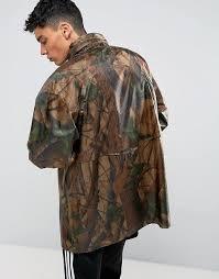 reclaimed vintage reclaimed vintage revived military camo jacket men brown