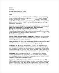 25 best invitation letter template