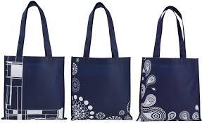 Paisley Bag Designer Designer Print Non Woven Polypropylene Tote With Stock