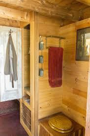 dee s kozy kabin tiny house toilet nook closet door open