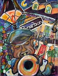 new orleans jazz art prints boston terrier art