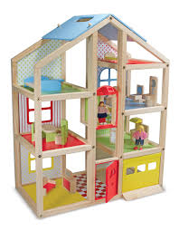 playhouse furniture ideas. Ebay Dollhouse With Garage And Cute Furniture For Kids Toys Ideas Playhouse T