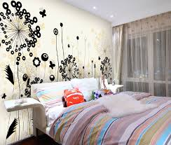 Patterned Wallpaper For Bedrooms Interesting Floral Modern Wall Covering Patterned Wallpaper