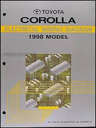 1998 toyota corolla wiring diagram manual original