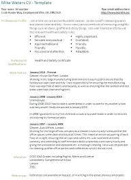 Cv For Cleaning Job Resume For A Cleaning Job Thrifdecorblog Com