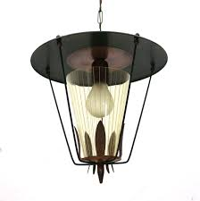 1950s Pendant Light Lantern Pendant Light 1950s