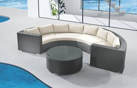 round patio modern outdoor ideas medium size enthralling round outdoor couch on sectionals sofa modern home patio daybed