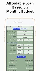 Mortgage Calculator Loan Calc By Giang Pham Ios United States