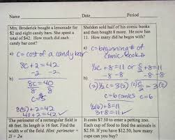 worksheet two step equation word problems math 7 with mrs van february 2016 hw word problems