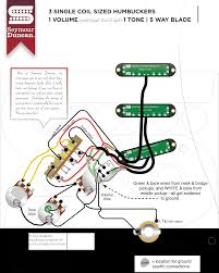 Wiring Diagrams For Split Humbuckers 1 Volume 1 Tone Series Parallel Humbucker Wiring