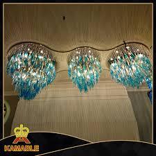 luxury lobby custom made glass chandelier ka0515